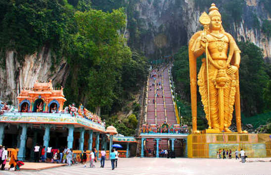 Batu Caves and Contry
